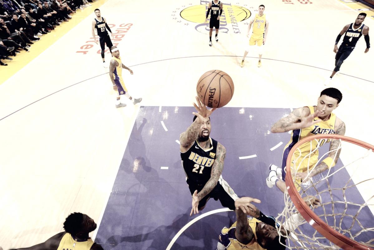 NBA - Jazz ok con Detroit, Lakers di rimonta sui Nuggets