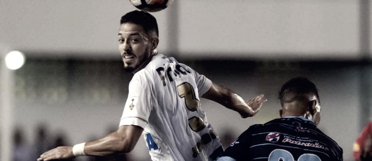 Ceará desperdiça muitas chances e cede empate ao Santos pelo Campeonato Brasileiro