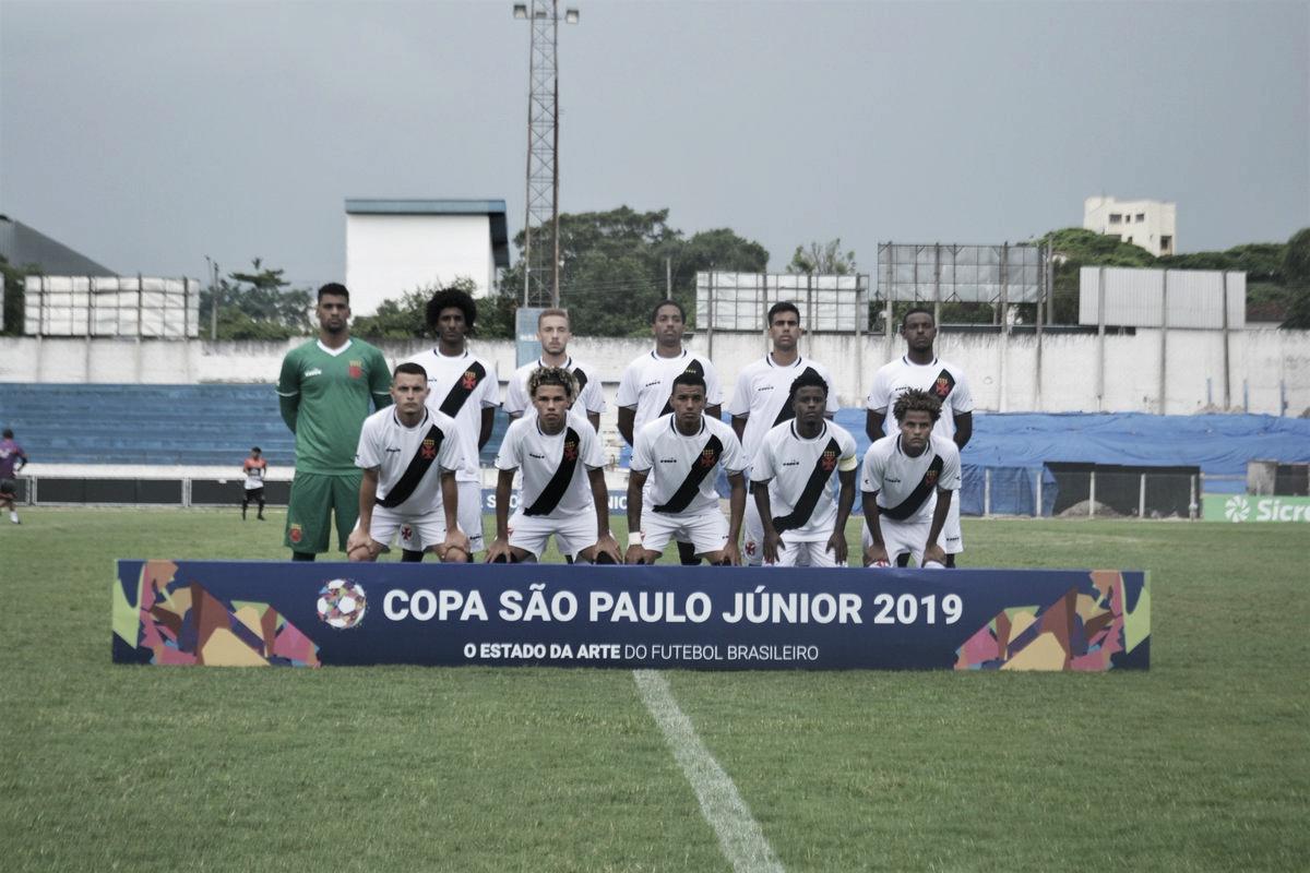 Vasco empata com Tubarão e fica muito perto da classificação na Copa São Paulo