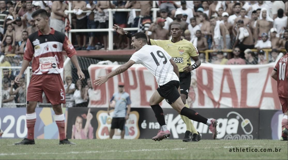 Com gol no fim da partida, Athletico vence Taboão da Serra e avança na Copinha