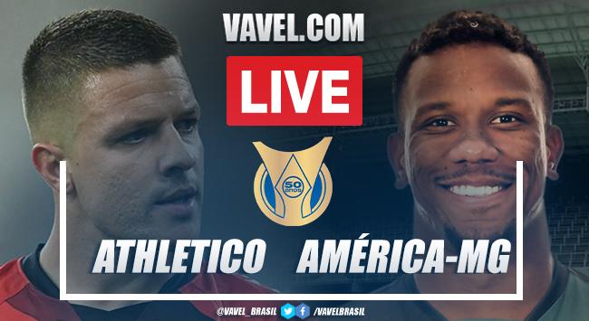 Gols e melhores momentos Athletico x América-MG pelo Campeonato Brasileiro (1-0)