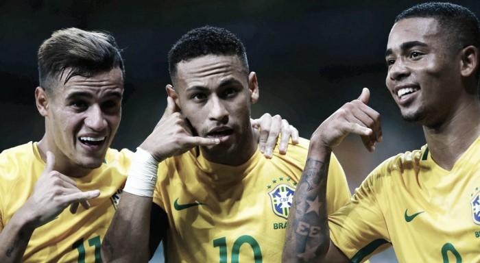 Mundial 2018: samba brasileiro dá 3 passos à frente e esmaga Argentina