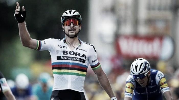 Volta a França: Primeira para Sagan