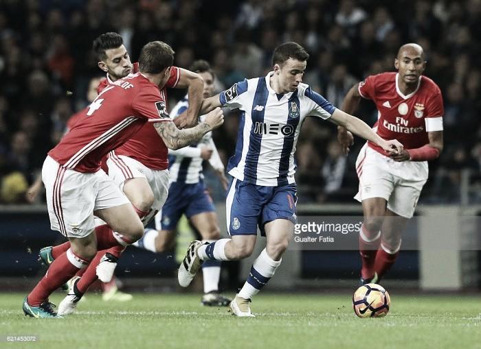 FC Porto: Diogo Jota saiu tocado do clássico