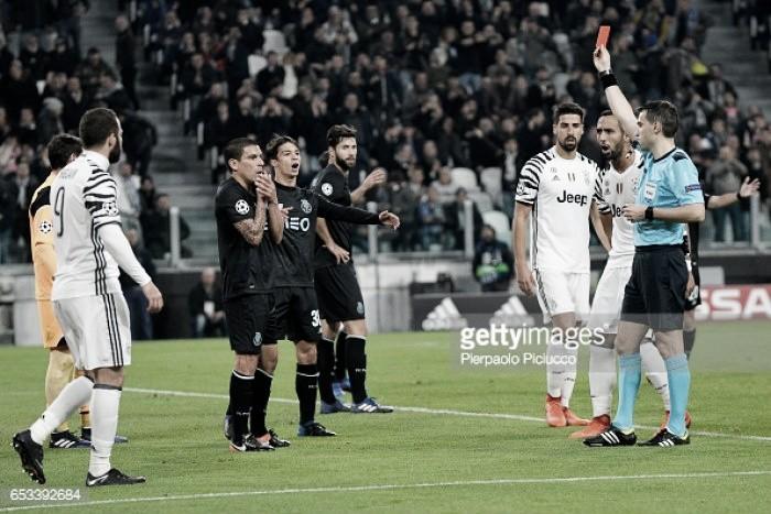 Juventus x FC Porto: Eliminatória pintada a vermelho