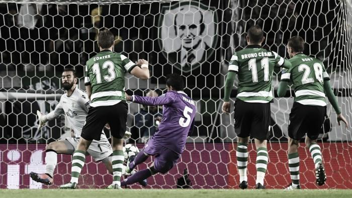 Sporting fora da Champions: leões lutaram, marcaram e caíram na Real(idade)