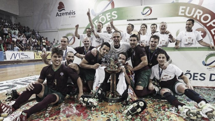 Portugal sagra-se campeão europeu de Hóquei em Patins pela 21ª vez: a hegemonia lusitana voltou