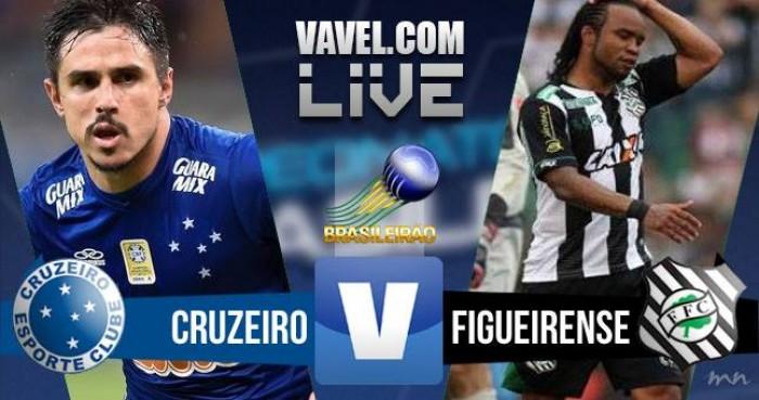 Resultado Cruzeiro x Figueirense pelo Campeonato Brasileiro 2016 (2-2)