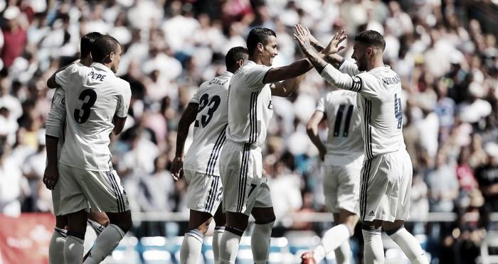 O regresso da máquina Cristiano: Real Madrid goleia antes de receber o Sporting