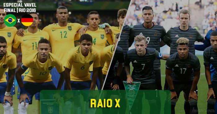 Raio-X VAVEL: Brasil leva vantagem no comparativo entre titulares contra Alemanha