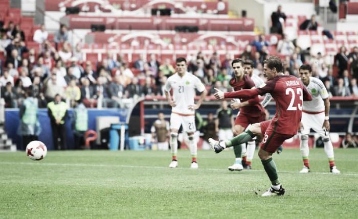 Portugal revestido de Bronze na Taça das Confederações