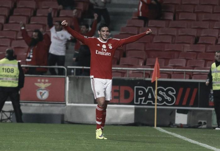 Jiménez, o homem do momento no Benfica