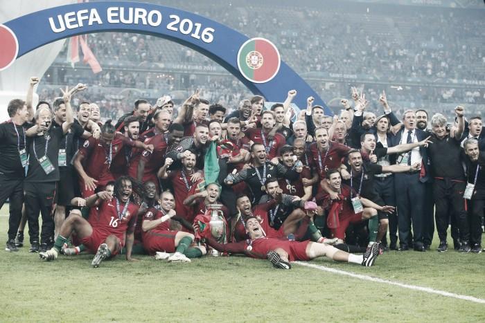 Portugal é Campeão da Europa... Foi há um ano...