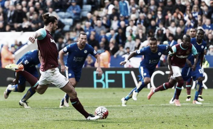 Barclays Premier League: Leicester empata no último minuto em jogo louco frente ao West Ham