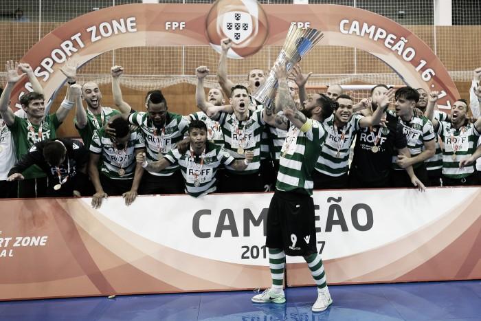 Sporting é Bicampeão Nacional em Futsal