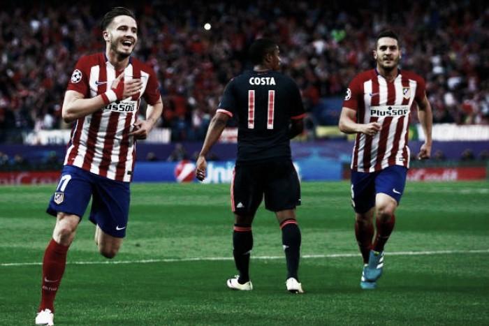 Obra prima de Saúl derruba alemães: Atlético vence Bayern em noite de sonho