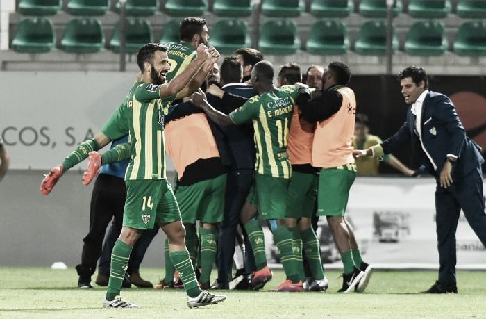 Arranque emotivo da jornada 7: Tondela vence pela 1ª vez no Campeonato