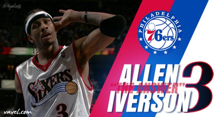 """O craque polêmico: Allen """"The Answer"""" Iverson"""