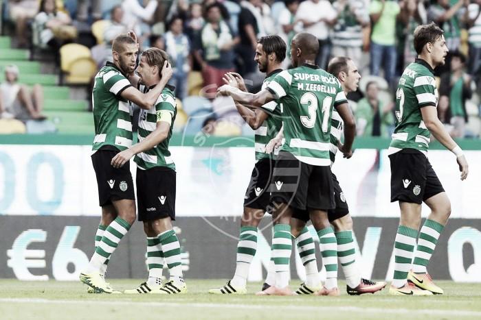 Leão violinista afina Alvalade: Sporting vence Wolfsburgo por 2-1