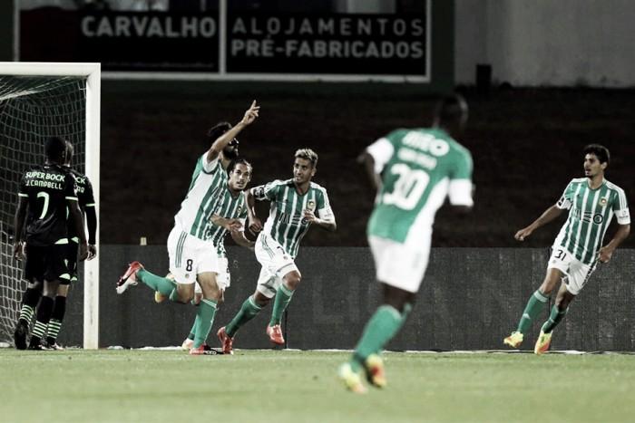 Rio Ave x Sporting: Leão cai em 'Arcos de Bernabéu'