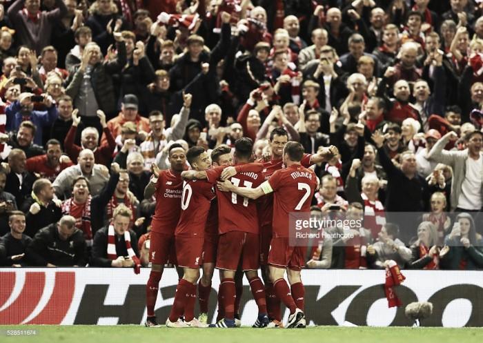 Liverpool chega a uma final eurupeia 9 anos depois: ingleses demoliram Villarreal por 3-0