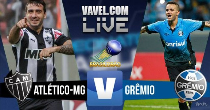 Resultado Atlético-MG x Grêmio no Campeonato Brasileiro 2016 (0-3)