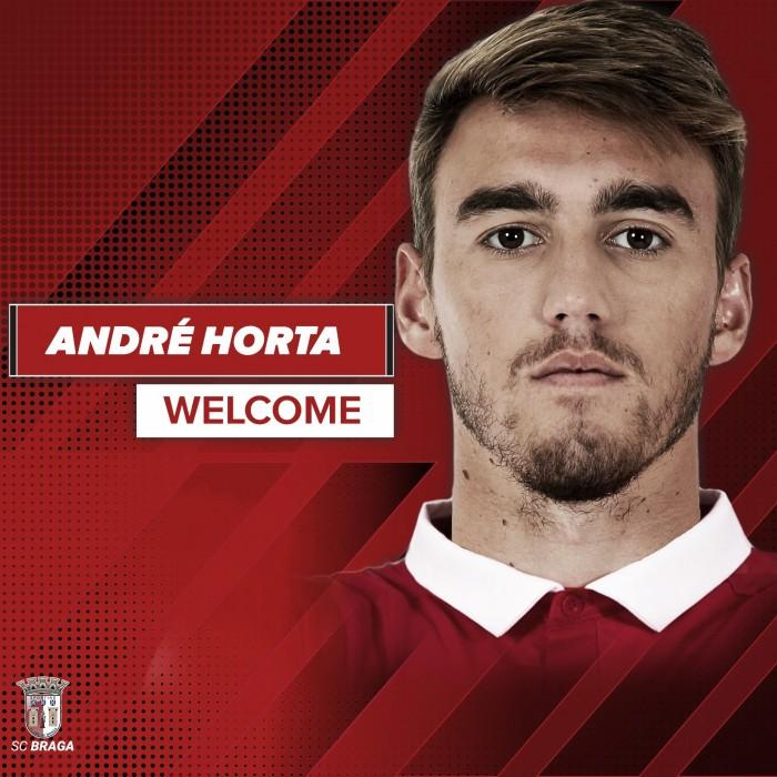 Oficial: André Horta da Luz para Braga