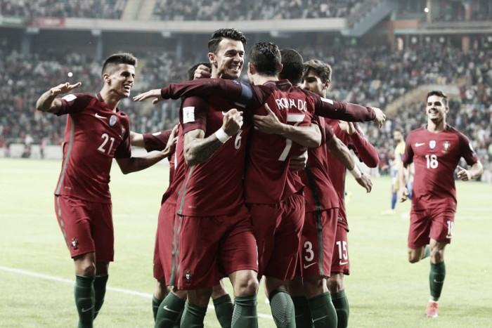 Poker de Cristiano esmaga Andorra: Portugal oferece meia dúzia de alegrias
