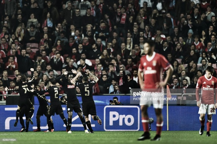 Benfica nos oitavos da Champions: É ucraniano o Dínamo deste Benfica