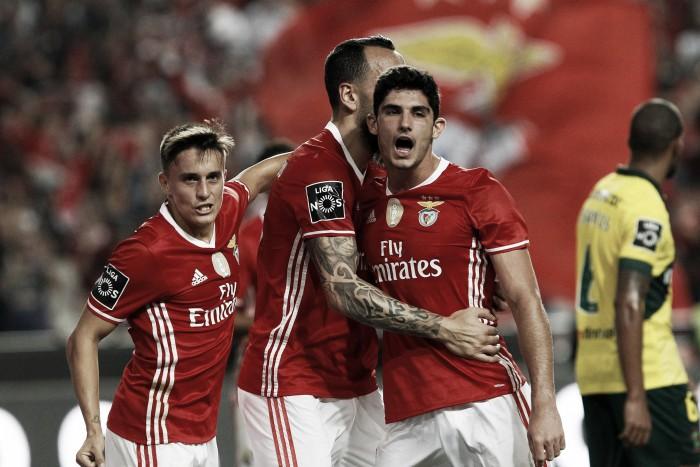 Benfica: Deu para celebrar, ganhar e até refrescar