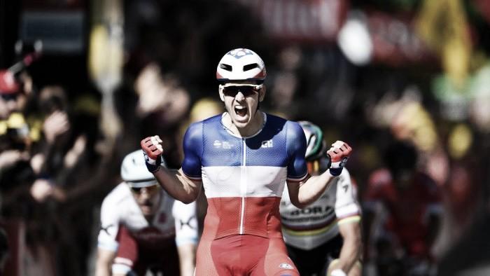 Volta a França: Démare ganha sprint polémico