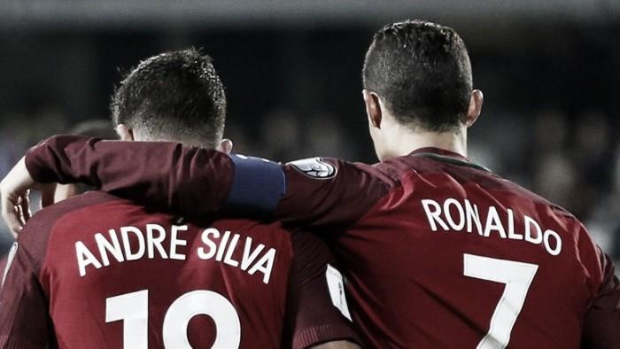 André Silva e Cristiano Ronaldo: Dupla mortífera portuguesa