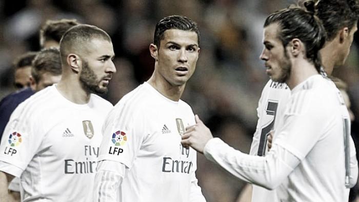 Ataque demolidor dos merengues em Milão: fórmula Real BBC chega à final da Champions com 98 golos