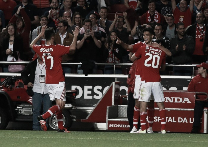 Águias voam em direcção à final da Taça da Liga: Benfica vence Braga e garante 7ª final na prova