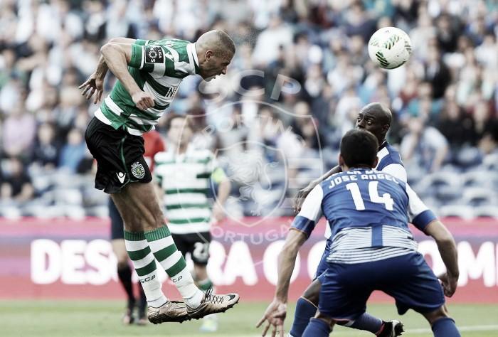 """Slimani esfomeado rugiu no Dragão: Sporting vence Porto num jogo """"à campeão"""""""