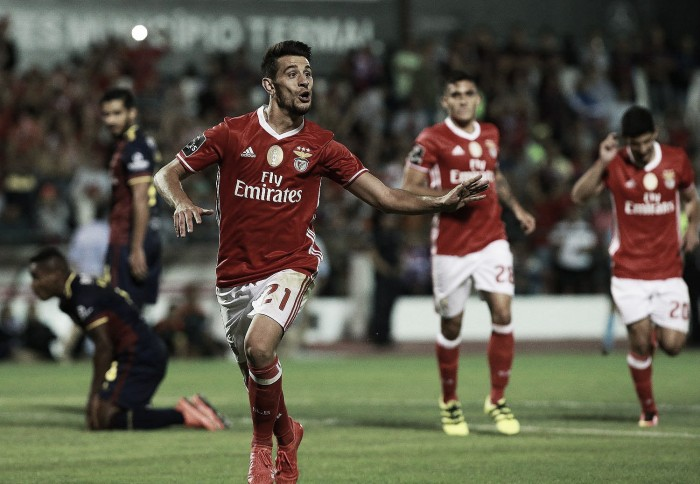 Pizzi, um dos homens do momento no Benfica