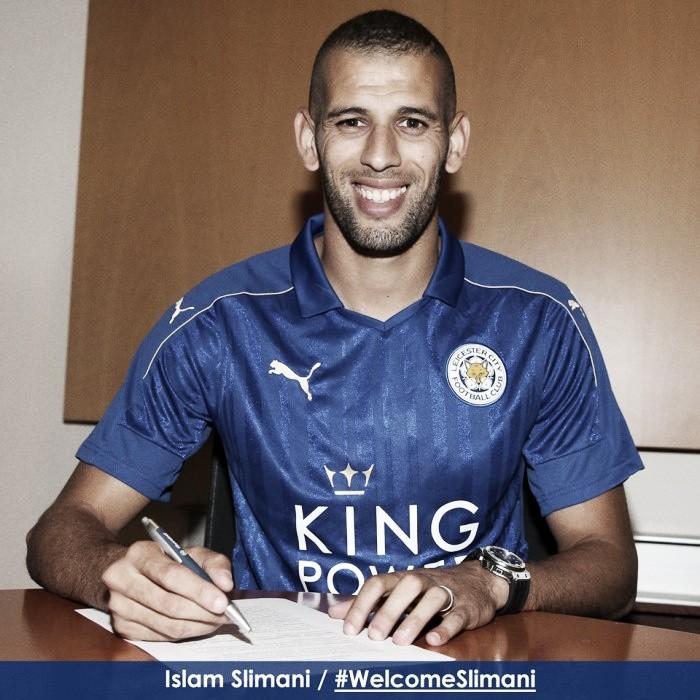 Oficial: Slimani é reforço do Leicester