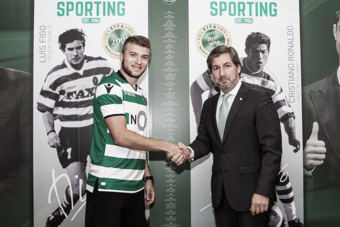 Ristovski em Lisboa para assinar pelo Sporting