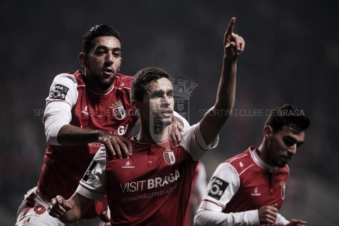 Braga revestido de bronze: minhotos esmagam Feirense (6-2)