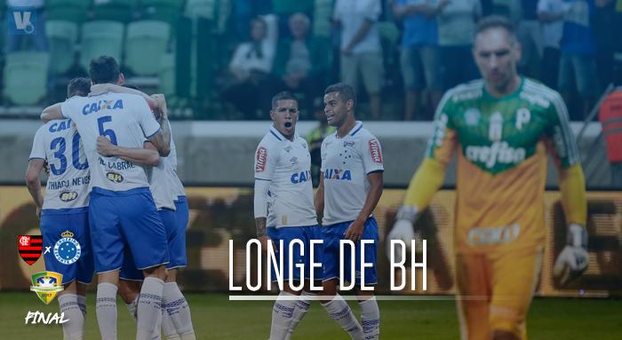 Boas atuações fora de casa contribuíram para chegada do Cruzeiro à final da Copa do Brasil