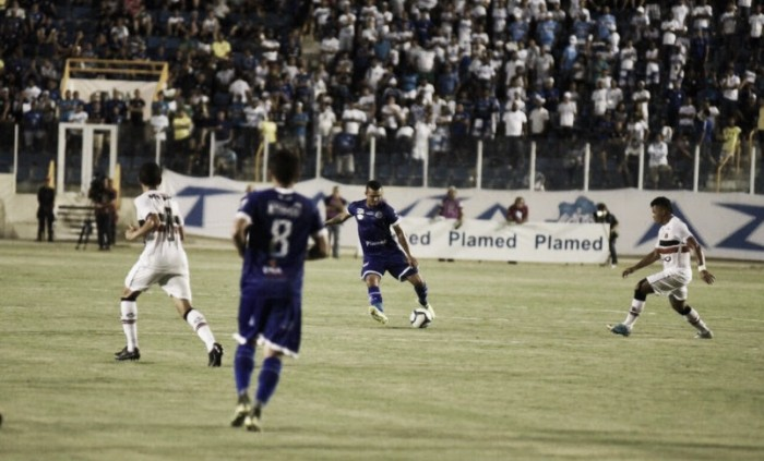 "Técnico do Santa Cruz, Junior Rocha analisa empate na Copa do Nordeste: ""Resultado justo"""