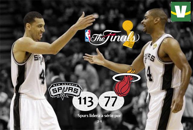 Com show de coadjuvantes, Spurs devolve surra e recupera a liderança das finais
