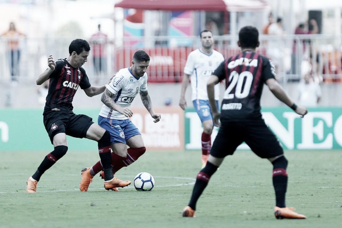 Atlético-PR recebe Bahia de olho em manter boa fase no Campeonato Brasileiro