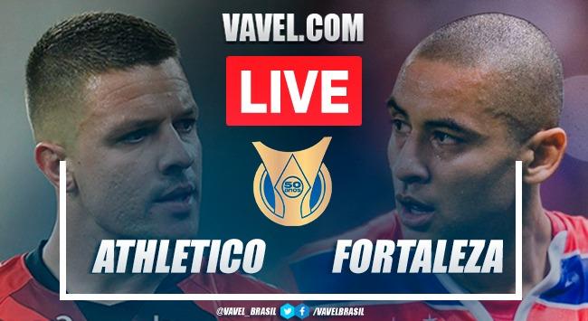 Gols e melhores momentos de Athletico-PR 2 x 1 Fortaleza no Brasileirão