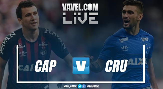 Resultado Atlético-PR 2 x 0 Cruzeiro pelo Campeonato Brasileiro 2018