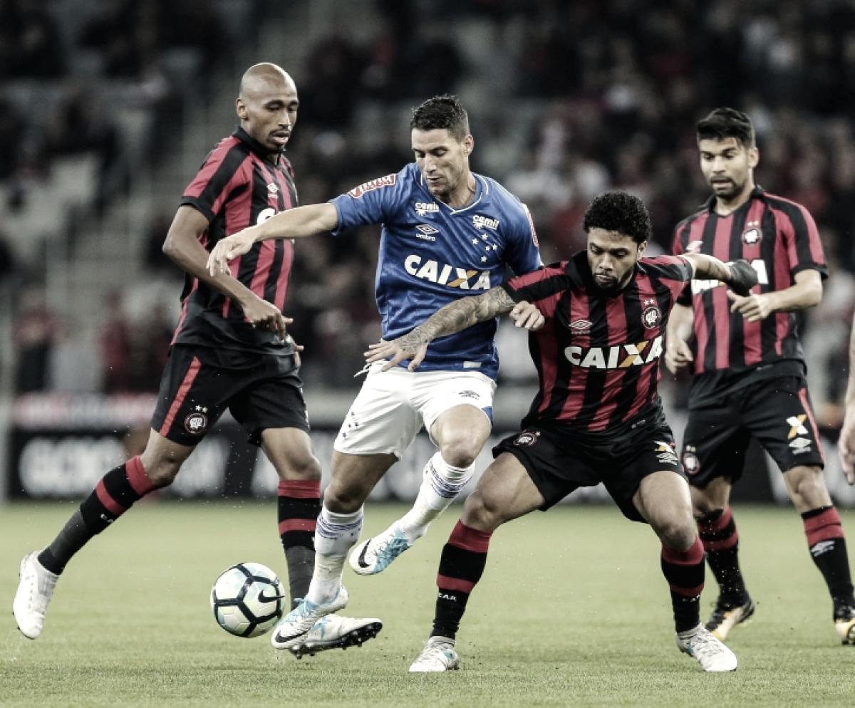 Resultado Atlético-PR X Cruzeiro pela Copa do Brasil 2018 (1-2)