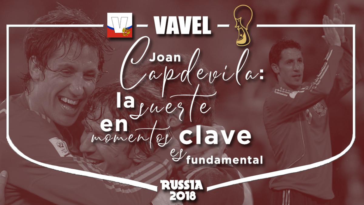 """Entrevista a Joan Capdevila: """"La suerte en momentos clave es fundamental"""""""