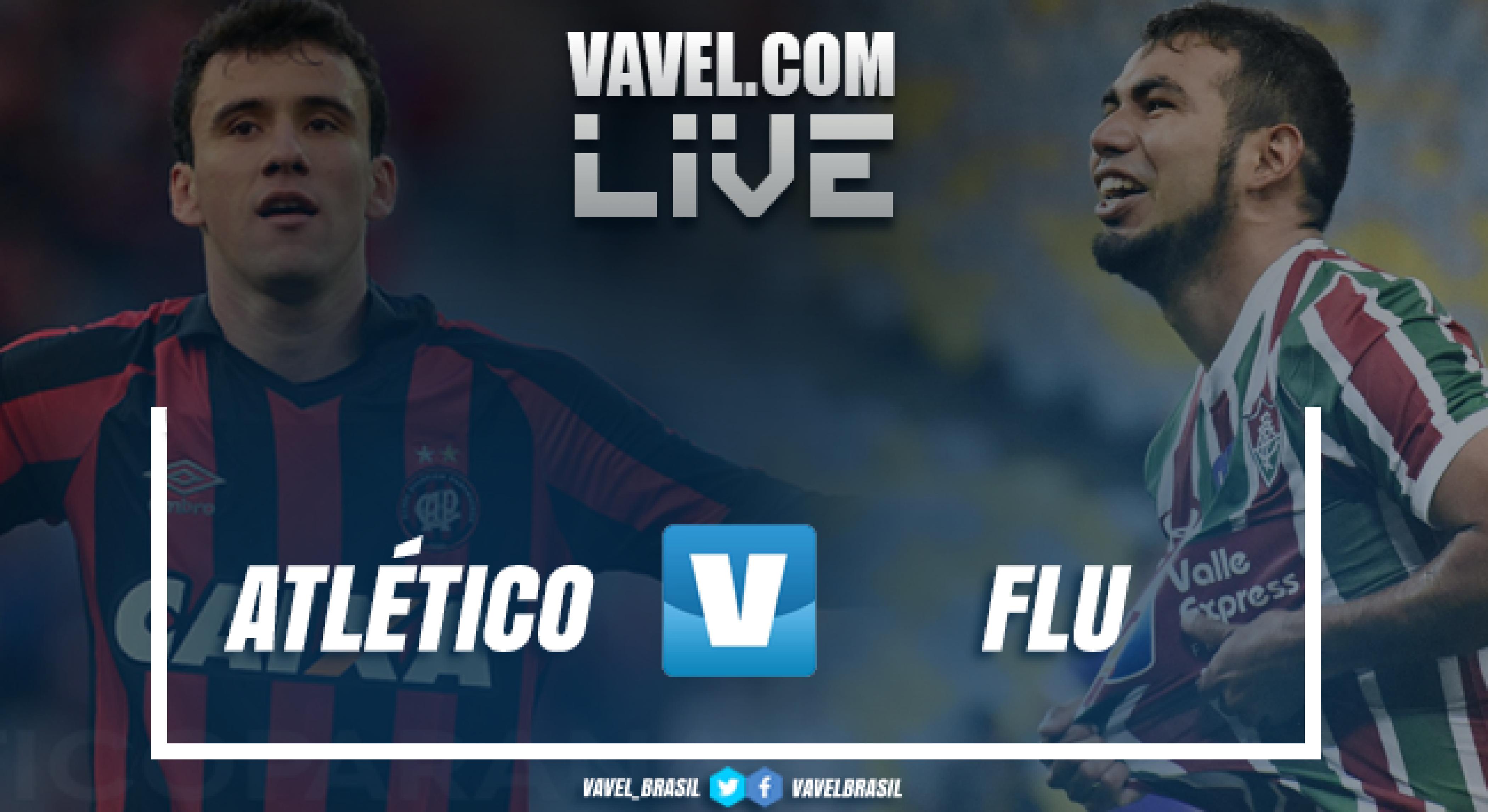 Resultado Atlético-PR x Fluminense AO VIVO online pelo Campeonato Brasileiro 2018