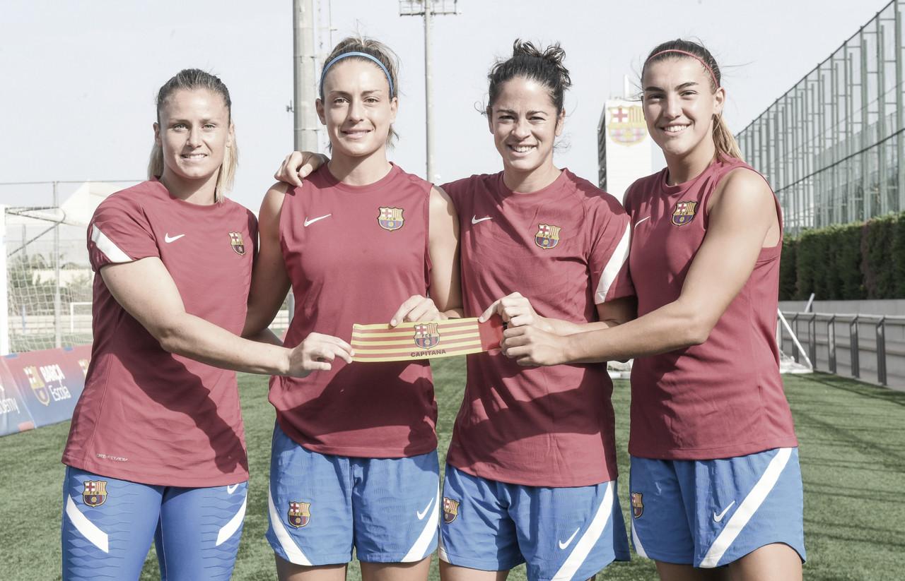 El brazalete del Barça Femení en buenas manos