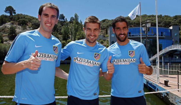 El Atlético de Madrid, cuatro capitanes y tres brazaletes